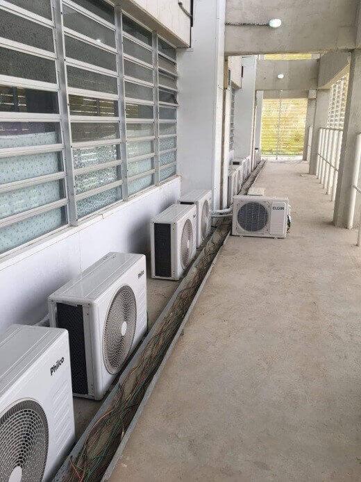 Limpeza de Filtro de Ar Condicionado